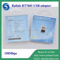 Cheap wireless usb dongle 150M Ralink RT7601 usb wifi adapter for ipad/iphone/ipod
