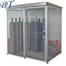 Folding steel stackable storage cage/gas bottle storage cage (manufacturer)