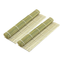 24*24cm Rolling Roller Bamboo Material Sushi Mat