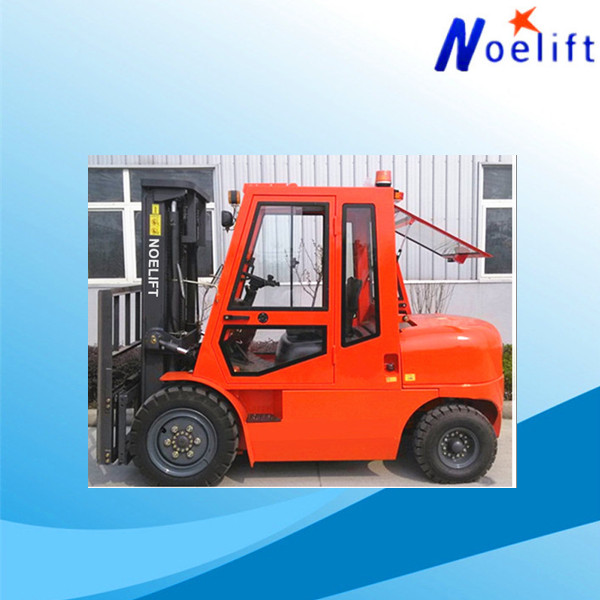 Four Wheel used japanese engine and transmission work visa 4 ton diesel forklift