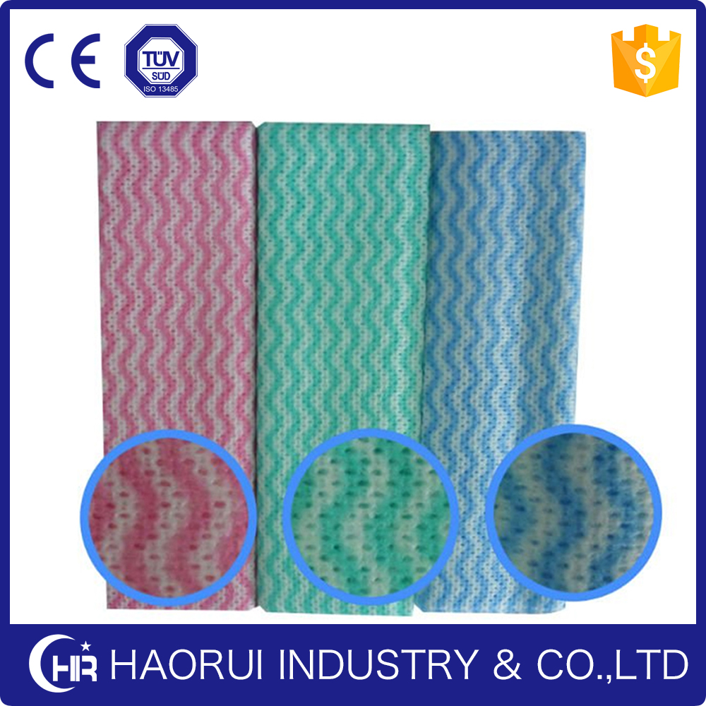 Reasonable Price Household Nonwoven Spunlance Cloth