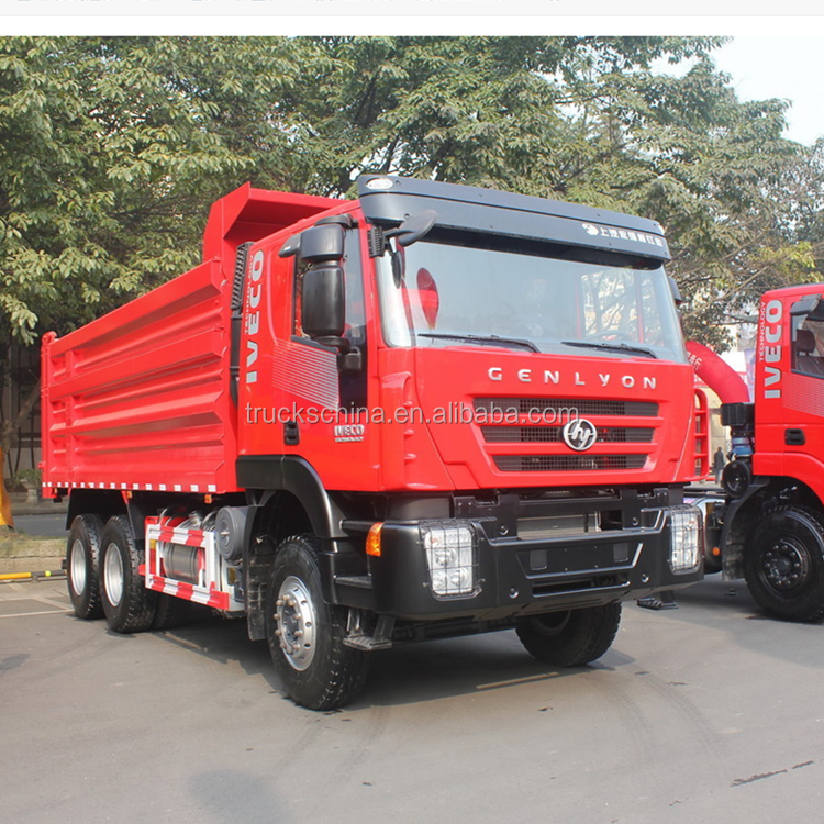 Iveco Brand Hongyan tipper 30 Ton loading capacity dump truck 6x4 for sale