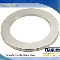 Cheap Strong Large Ring Neodymium Magnet/Aimant china ndfeb magnet manufacture