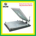 45cm*60cm Cheap deaktop screen printer with fine-tuning
