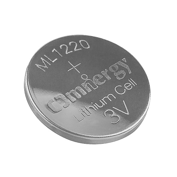 Omnergy ML1220 Lithium-Aluminum Alloy 3V Rechargeable Primary Button Cell Battery