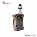 Teslacigs newest high quality starter kit with factory price Tesla Punk 220w kit