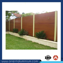security aluminium zaun dog fence hog wire fence