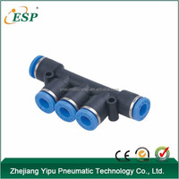 PK PKB PKD PKG Plastic Union Triple Branch pneumatic air fittings