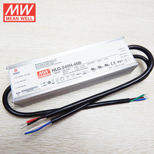 240W 1-10VDC dimmable LED Driver 48V with PFC function HLG-240H-48B MEAN WELL original