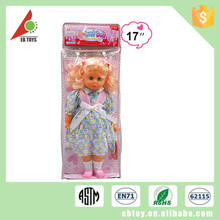 Little princess series sweet models doll for fashion baby