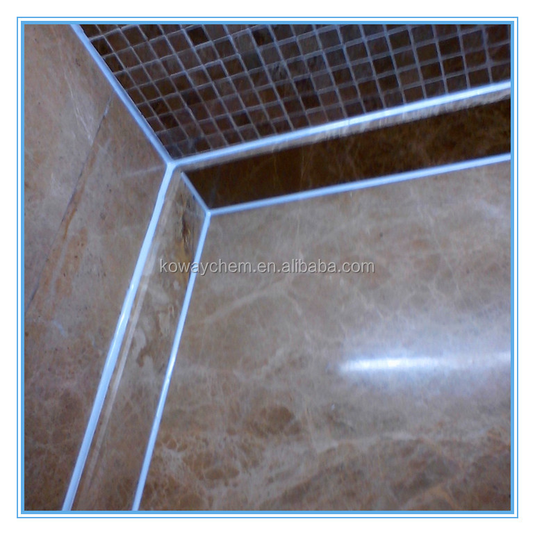 Epoxy resin sealant for tiles, sanitary wares, kitchen