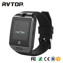 Q18 smart watch 1.54 inch TFT touch screen watch mobile phone with camera anti-lost pedometer Stainless steel wire drawing