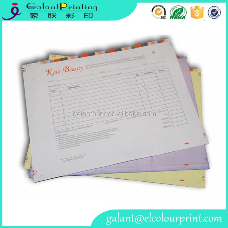 Custom Printing Rent Receipt Bill Book Cash Memo For Restaurant ...