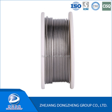 Reasonable tin solder wire price low temperature Sn60 Pb40 aluminum flux cored welding wire / solder wire in tube