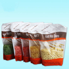 Amazon hot selling 300g bean for hair removal tea tree hard wax all types of beans made in China