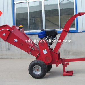 Gasoline drived new designed wood shredder for sale