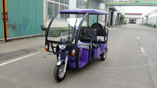 new electric tricycle with passenger seat 850w motor e-rickshaw 3 wheel India market electric power taxi