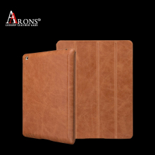 Italy genuine premium book-style tablet for ipad mini 4 leather case