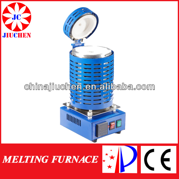 Mini 3kg Blue Gold/Copper/Silver/Aluminum Melting Furnace for Sale Jewelry tools and Equipment Gold Making Machine