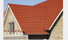 Bond/Classic/Roman/Shingle/Wood Shake Stone Coated Steel Roofing Tiles