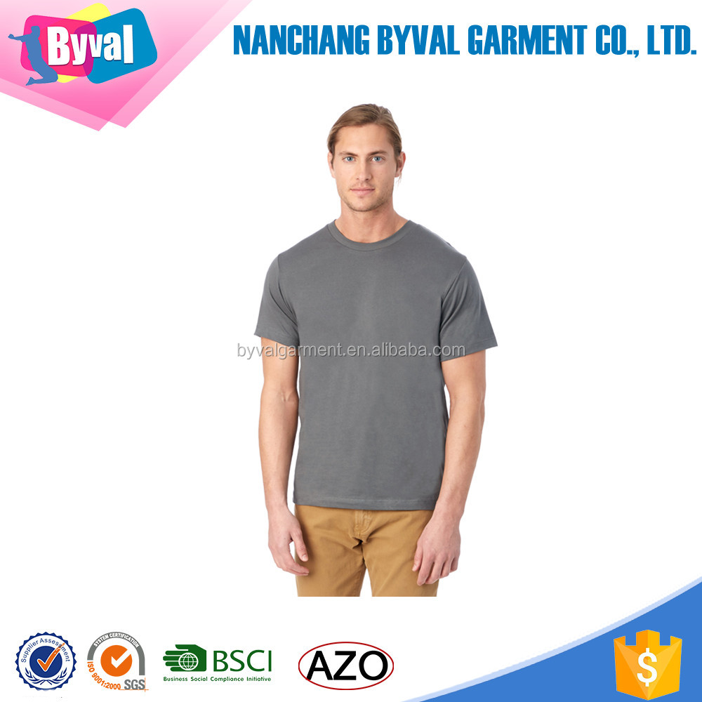 Wholesale Mens Basic Plain T-Shirt Cotton Short Sleeve Crew Neck Dri Fit T-Shirt Bangladesh Clothing