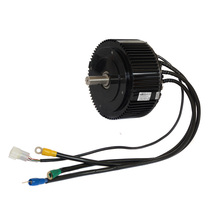 BLDC motor 5000W electric motorcycle conversion kit / Electric scooter mid drive motor and controller PLN17125
