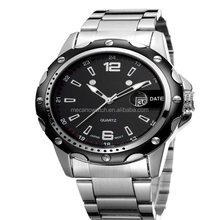 2015 Most Popular new arrival luxury own brand automatic mechanical wrist all stainless steel watch men