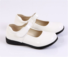 Juqian Special occasions slip on best white student shoes for Primary school