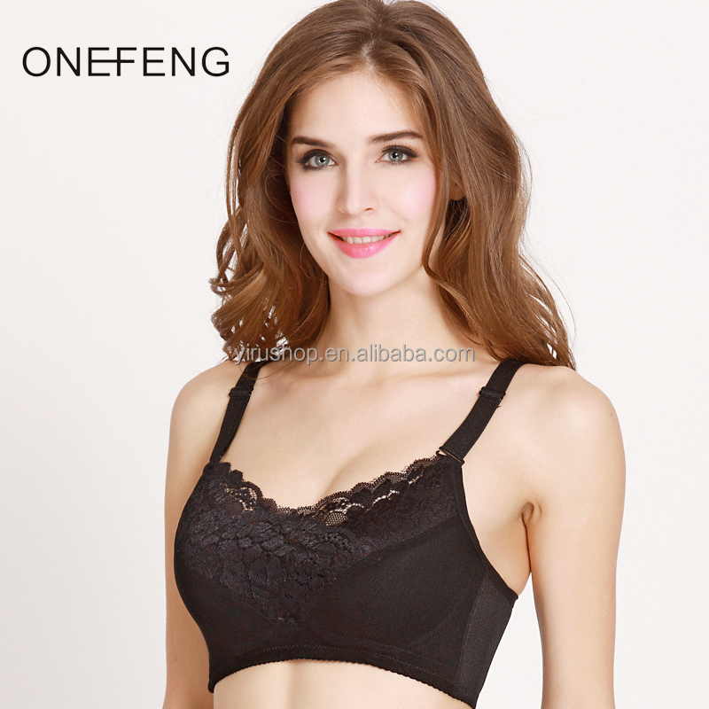 Cotton Bras for Breast Cancer Womens Hot Sex Bra Images for Post Surgical Woman