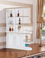 Custom Made Modern Design Living Room Partition Furniture Luxury Display Cabinet for Wine Display
