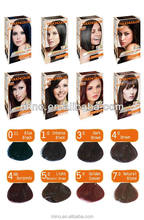 Private Label Demi-permanent Ammonia Free Anti-Allergy Hair Color Manufacturers