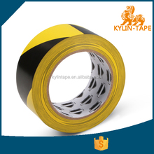 Pvc hazard warning tape with printed colors for floor marking