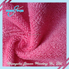 Super Absorbent Plain Microfiber Towel Fabric for Car Cleaning