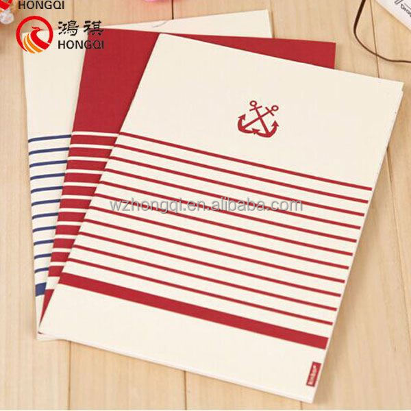 N254-B Factory for sale printed board college notebooks,targus notebook backpack,silk cover notebook