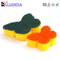 Promotional Clean Without Detergent Bulk Kitchen Cleaning Abrasive Sponge