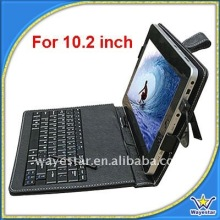 Tablet PC Leather Case with Keyboard