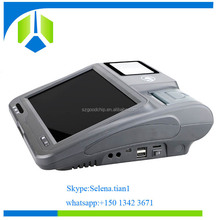 Widely application in Electronic coupons filed,Touch screen Pos System with RJ45,WIFI,3G ---Gc039B