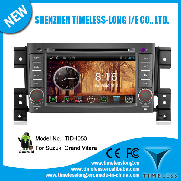 Android system Car GPS Navigation for Suzuki Grand Vitara 2006-2010 with GPS Ipod DVR digital TV box BT 3G/Wifi(TID-I053)