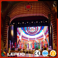 Energy saving indoor round led display