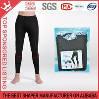 Men slimming bamboo carbon fiber nine under pants K163
