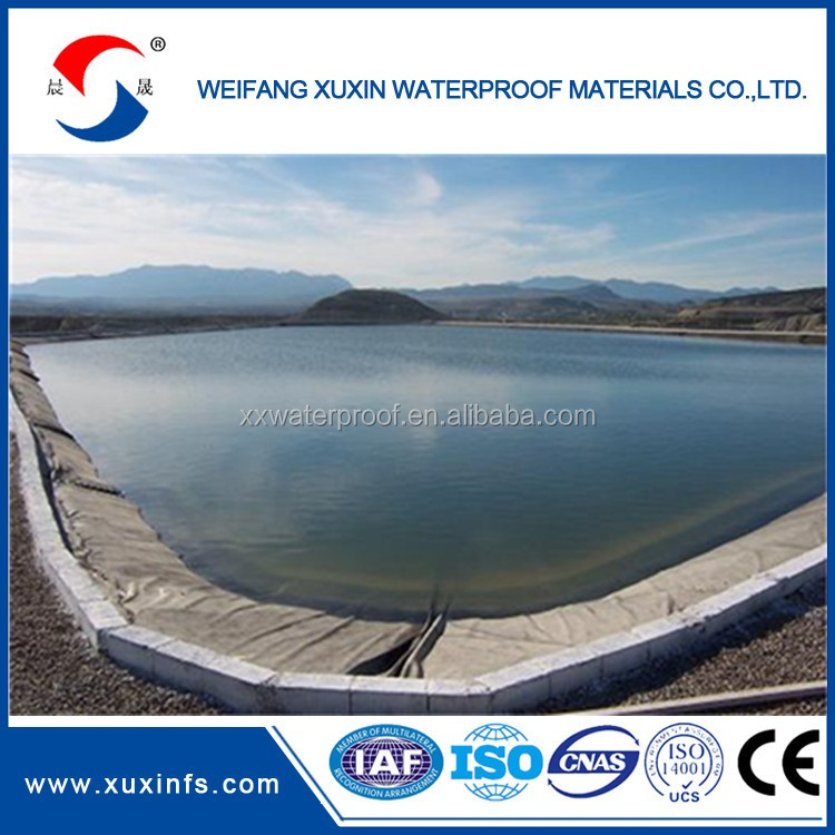 Fish Farm Pond HDPE Plastic Geomembrane Liner