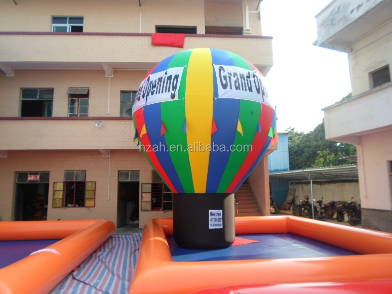 Rainbow Inflatable Bulb Ground Balloon Advertising