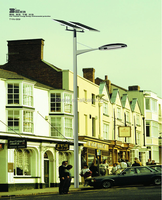 IP65 rating high quality solar powered street light pole led outdoor light system price list