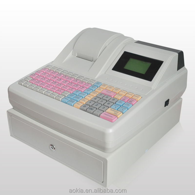 AK-830 Electronic Cash Register Supermarket bill payment machinie