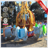 Newest carousel rides- merry-go-round, galloper rides, carousel horse rides