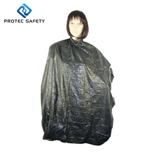 Waterproof PVC plastic hairdressing barber hair cutting cape