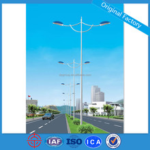 Dual-arm Electric Street Light Pole Price
