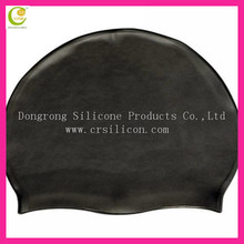 Hot selling ODM/OEM custom printing logo personalized durable colroful silicone swim caps for black women