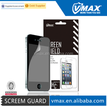 100% Bubble Free crystal clear screen protector for iPhone 4 4s oem/odm
