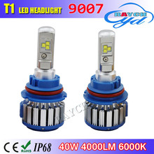 80W 8000LM Korean Chip C6 T1 Turbo fan LED Headlight H1 H3 H4 H7 H8 H9 H11 9005 9006 9012 9004 9007 H13 Car LED Headlight Bulb